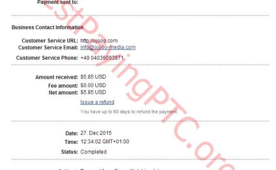Payment Proof Ojooo wad 5.85